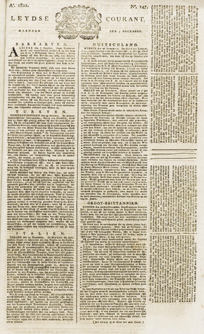 Leydse Courant 1822-12-09