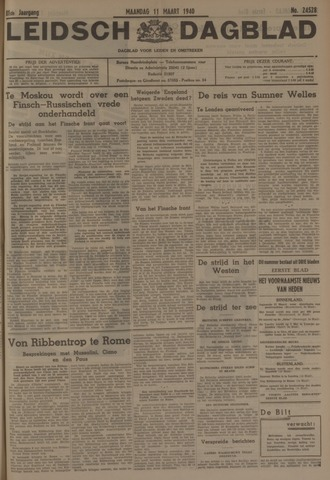 Leidsch Dagblad 1940-03-11