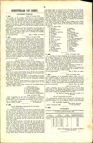 Handelingen van de Raad 1885-11-02