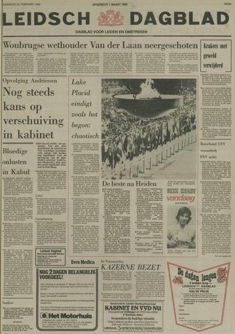 Leidsch Dagblad 1980-02-25