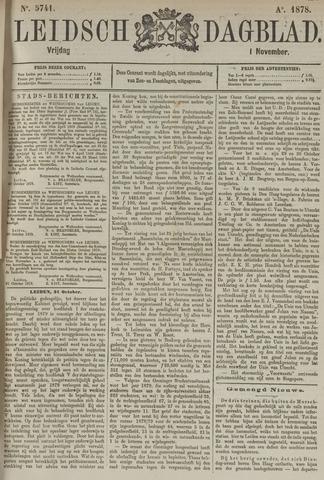 Leidsch Dagblad 1878-11-01