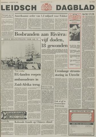 Leidsch Dagblad 1985-08-01
