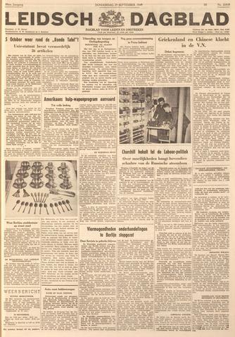 Leidsch Dagblad 1949-09-29