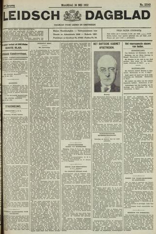 Leidsch Dagblad 1932-05-30