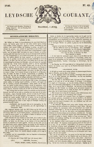 Leydse Courant 1846-06-01