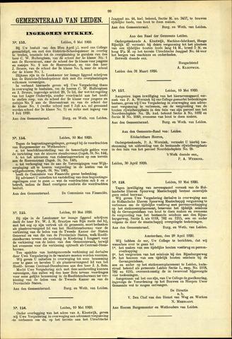 Handelingen van de Raad 1920-05-06