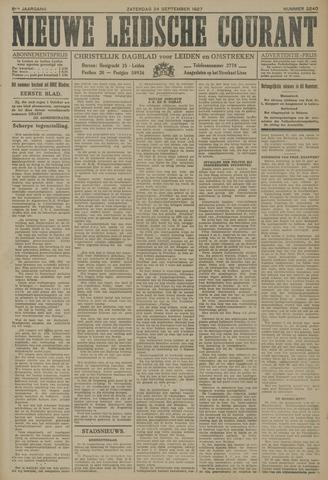 Nieuwe Leidsche Courant 1927-09-24