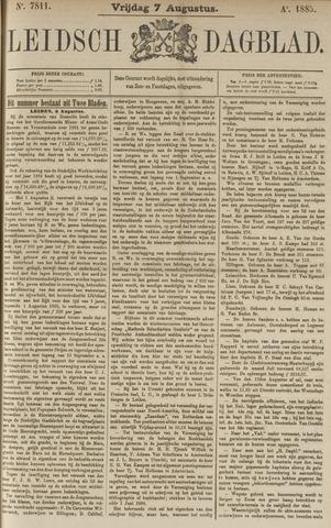 Leidsch Dagblad 1885-08-07