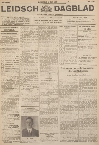 Leidsch Dagblad 1930-06-12