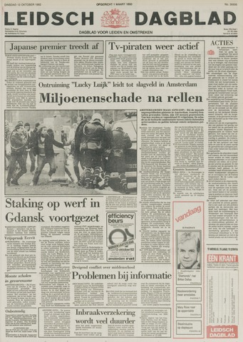 Leidsch Dagblad 1982-10-12