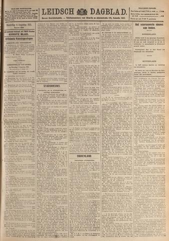 Leidsch Dagblad 1921-08-04