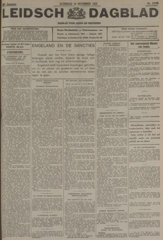 Leidsch Dagblad 1935-11-16