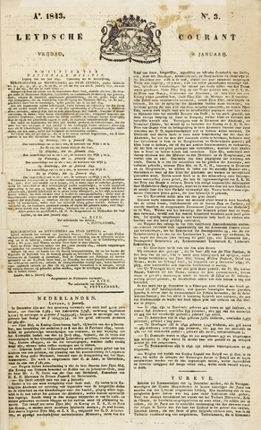 Leydse Courant 1843-01-06