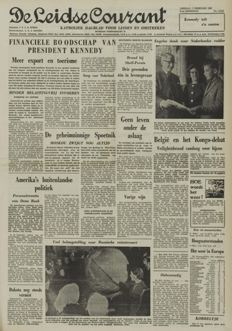 Leidse Courant 1961-02-07