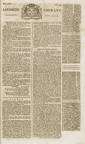 Leydse Courant 1826-04-05