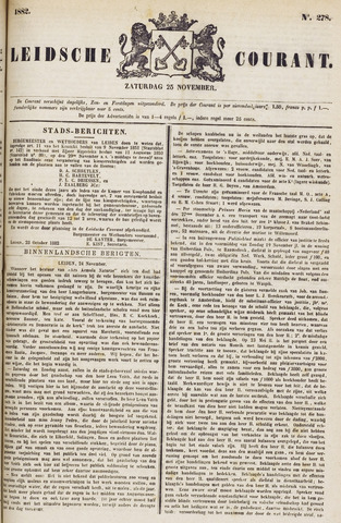 Leydse Courant 1882-11-25