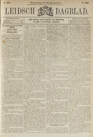 Leidsch Dagblad 1892-09-19