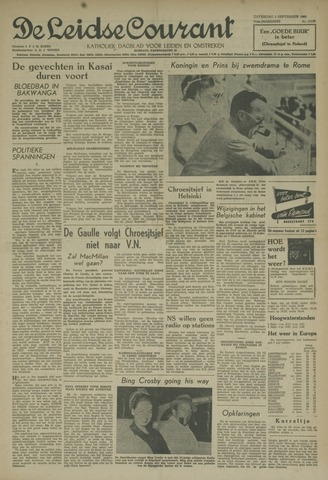 Leidse Courant 1960-09-03