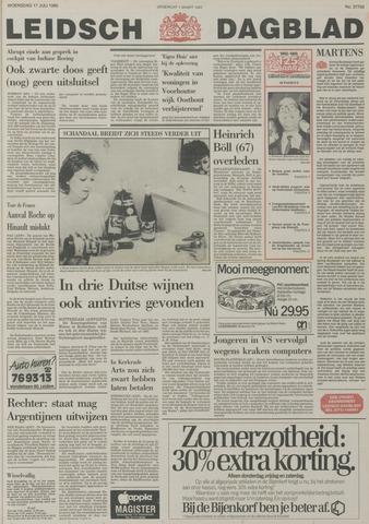 Leidsch Dagblad 1985-07-17