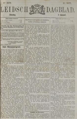 Leidsch Dagblad 1877