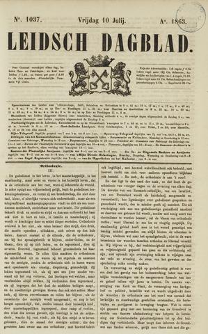 Leidsch Dagblad 1863-07-10