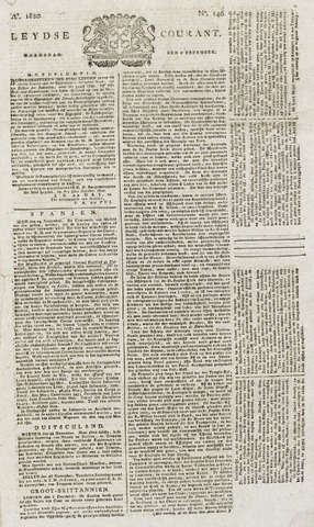 Leydse Courant 1820-12-06