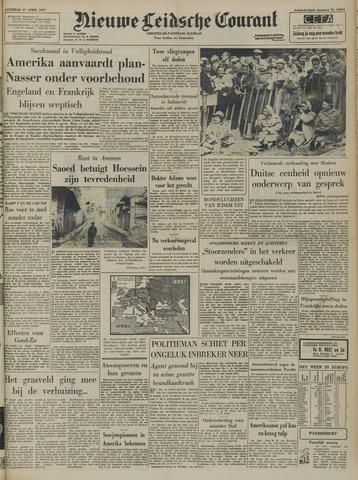 Nieuwe Leidsche Courant 1957-04-27