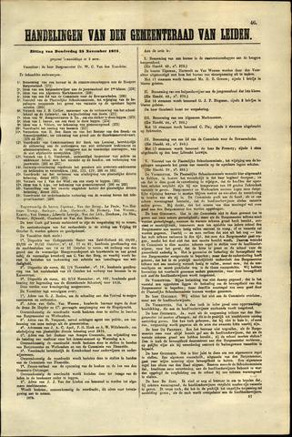 Handelingen van de Raad 1875-11-25