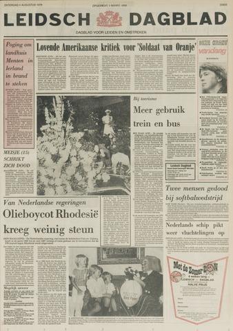 Leidsch Dagblad 1979-08-04