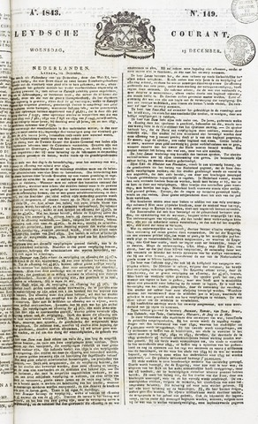 Leydse Courant 1843-12-13