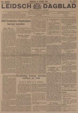 Leidsch Dagblad 1940-10-16
