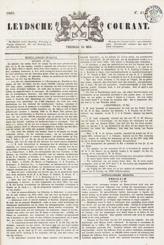 Leydse Courant 1865-05-19