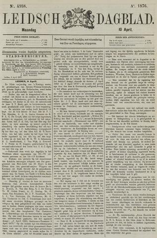 Leidsch Dagblad 1876-04-10