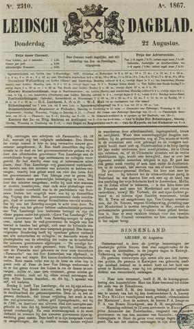 Leidsch Dagblad 1867-08-22