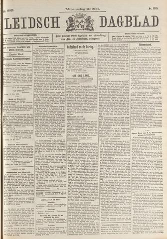 Leidsch Dagblad 1915-05-19