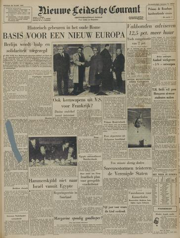 Nieuwe Leidsche Courant 1957-03-26