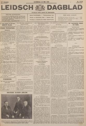 Leidsch Dagblad 1930-05-10
