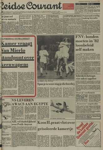 Leidse Courant 1981-10-15