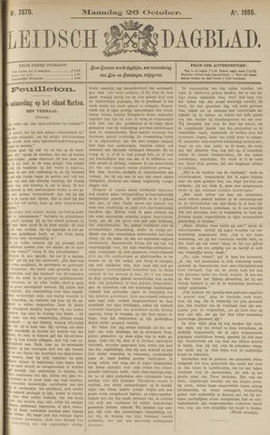 Leidsch Dagblad 1885-10-26