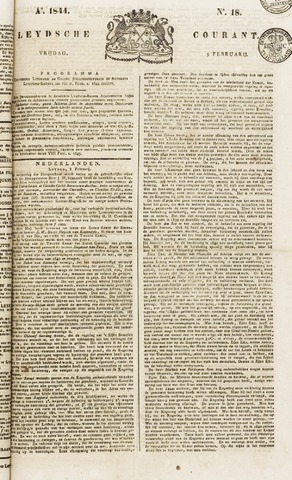 Leydse Courant 1844-02-09