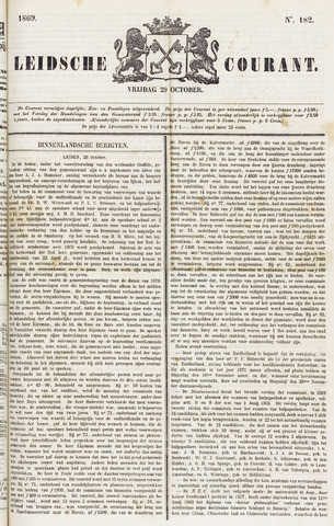 Leydse Courant 1869-10-29
