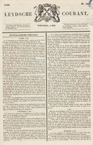 Leydse Courant 1846-05-06