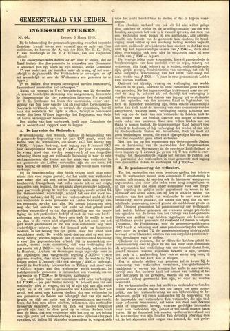 Handelingen van de Raad 1919-03-06