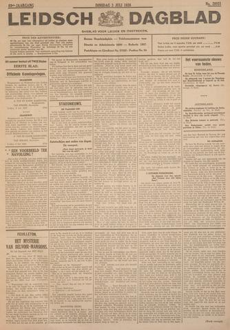 Leidsch Dagblad 1928-07-03