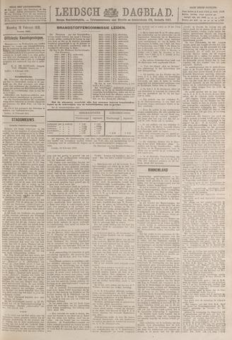 Leidsch Dagblad 1919-02-10
