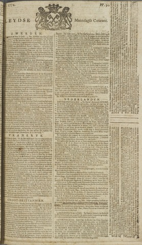 Leydse Courant 1772-07-27