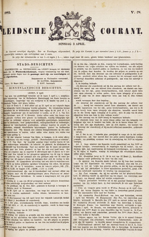 Leydse Courant 1883-04-03