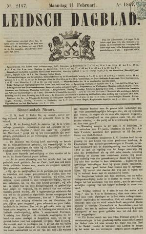 Leidsch Dagblad 1867-02-11