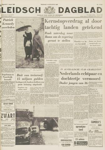 Leidsch Dagblad 1963-08-09
