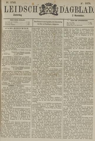 Leidsch Dagblad 1878-11-02